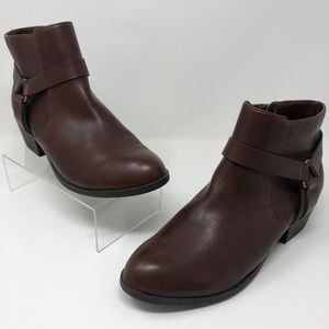 Kenneth Cole Reaction 10 Dolla Bill Bootie Brown